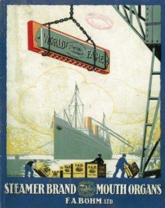 Katalogwerbung der einstigen Klingenthaler Firma Böhm