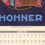 Kalenderblatt März 2018