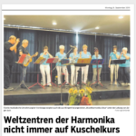 """Beiträge zur Ausstellungseröffnung """"Trossingen und Klingenthal – Weltzentren der Harmonika"""""""